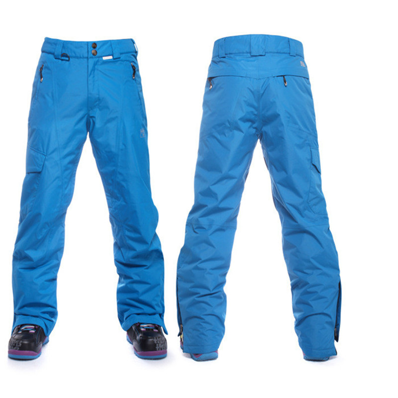 Nouveau 2016 hommes pantalons de Ski hiver thermique Snowboard pantalon imperméable coupe-vent neige pantalon mâle épaissir chaud Ski sport pantalon
