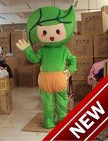 Green leaves baby Cartoon Character Costume cosplay mascot Custom Products custom free shipping