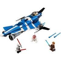 Pogo Lepin BL10375 Leger Luchtschip Fighter UFO Star Wars Bouwstenen Bakstenen Speelgoed Compatibel Legoe