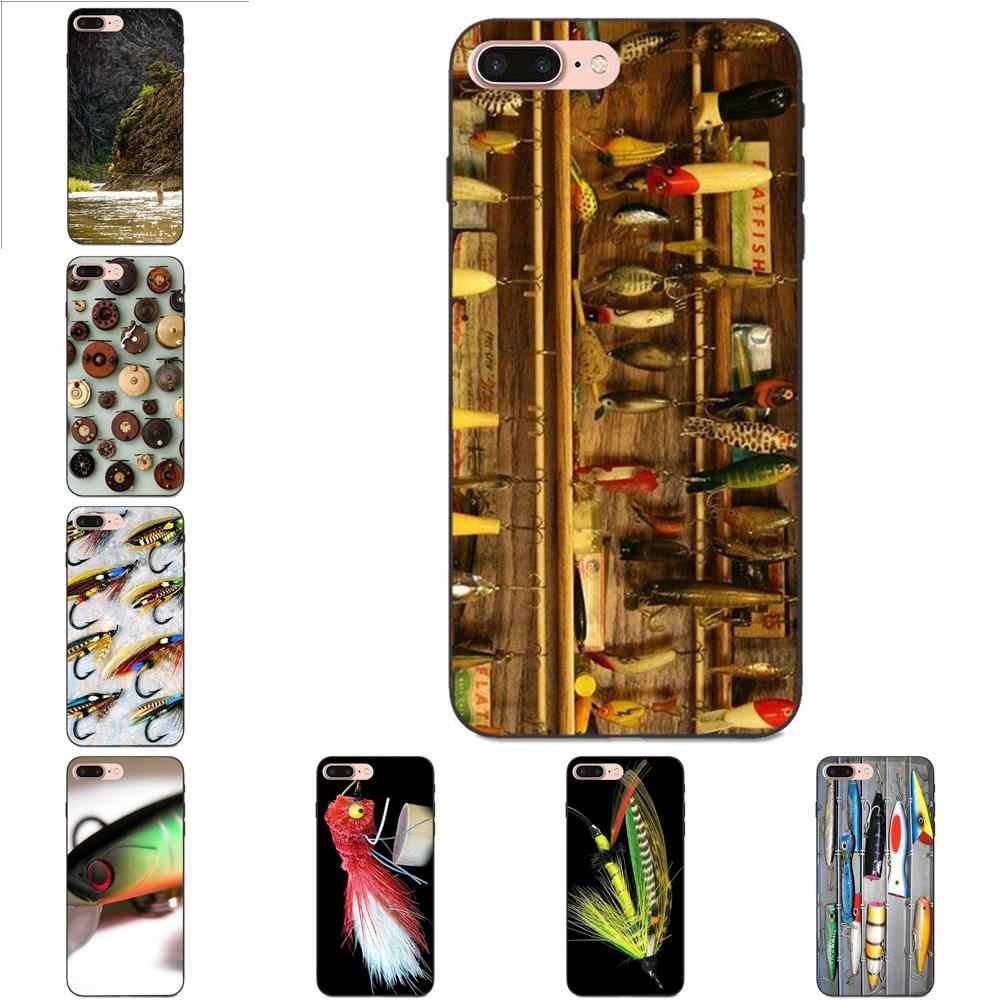 สำหรับ Galaxy C5 C7 J1 J2 J3 J330 J5 J6 J7 J730 2017 Ace Core Duo Max Mini Plus Prime pro Soft Fishing Tackle กล่องเหยื่อตกปลา