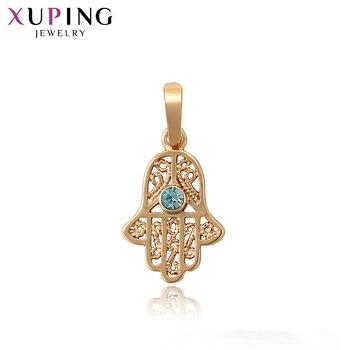 Xuping moda wisiorek złoty kolorowe zawieszki style wisiorek Hot sprzedam biżuteria dla kobiet prezent bożonarodzeniowy S96, 2-34023