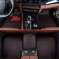 Flash mat leather car floor mats for Renault Duster clio scenic kadjar fluence laguna koleos Espace Talisman Latitud captur mat