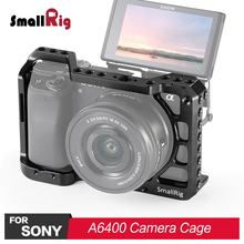 SmallRig DSLR Camera Cage for Sony A6400 Feature with Arri Locating Hole , 1/4 3/8 Thread Holes For Accessories Attachment 2310 цена