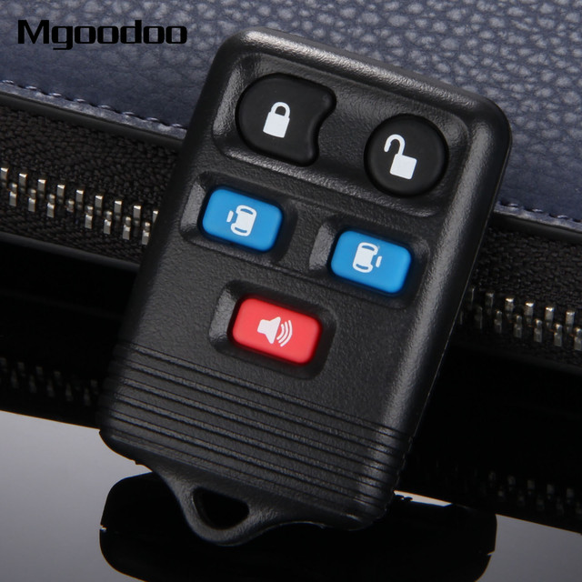 Mgoodoo 5 Ons Keyless Entry Remote Key Shell Case Cover Replacement Fob For Ford Freestar 2004 2008 Windstar 1998 2003