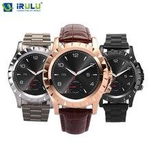 ใหม่2016 iruluบลูทูธt2 smart watchกันน้ำs mart w atchสำหรับapple iphone/5/5วินาทีs4/หมายเหตุ3 htcโทรศัพท์androidมาร์ทโฟน