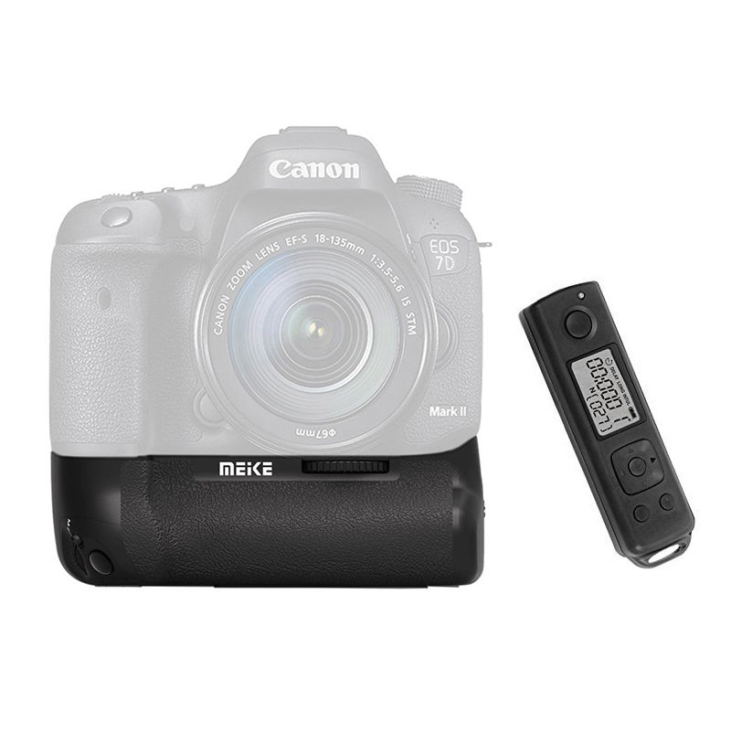 Meike MK-7DR II 2.4g Wireless Control Battery Grip for Canon 7D II as BG-E16 modern talking modern talking ready for the mix