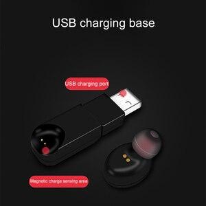 Image 2 - Kebidu auriculares inalámbricos por Bluetooth, Mini auriculares invisibles, auriculares de negocios con cancelación de ruido y micrófono para teléfono Android