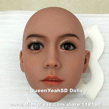 #85 sex doll head with oral sexy, silicone adult doll heads for love doll, sex products, can fit for 140cm to 168cm height body