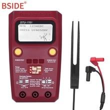BSIDE Multi-purpose Transistor Tester Diode Triode Capacitance Resistor Meter MOS/PNP/NPN SMD Tester 2000pcs 2n2222 npn 40v 0 8a transistor to 92