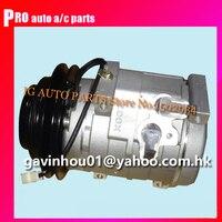 10pa17c kompressor Für Auto Mitsubishi Pajero 3 2 2000 2006 MR398533 MR568289 MR500877 447220 3993 447170 6640 447170 7850-in Klimaanlage aus Kraftfahrzeuge und Motorräder bei