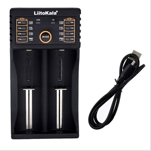 Image 5 - LiitoKala Lii 202 Smart Battery Charger with USB Power Bank Function for Ni MH Lithium battery for 18650 26650 18350 14500 Liito