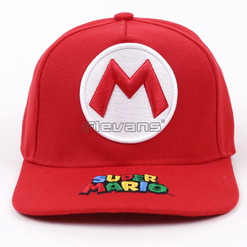 Super Mario High Quality Unisex 100% Cotton Outdoor Baseball Snapback Cap Fashion Sports Hats For Men & Women Caps fashion sports baseball cap men