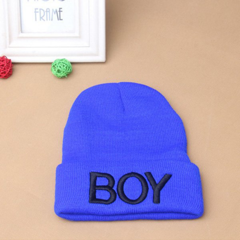 9176ae7cddc Fashion Winter Toddler Baby Girl Boy BOY Skull Hat Warm Beanie Caps Woolen  Hats-in Skullies   Beanies from Apparel Accessories on Aliexpress.com