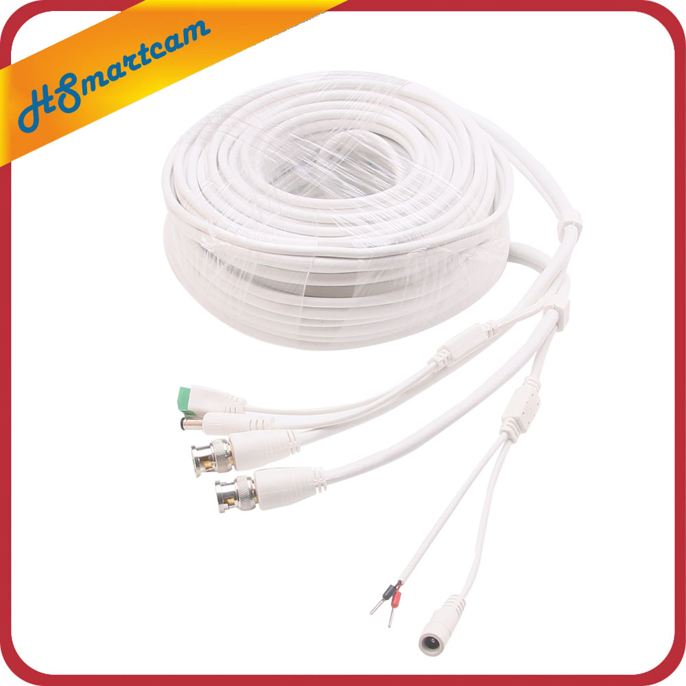100Ft PTZ Power Video & RS-485 Control Cable for Lorex PTZ Cameras ...