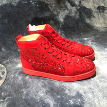 Buy luxury brand flat red shoes and get free shipping on AliExpress.com 8e8bbc12558d