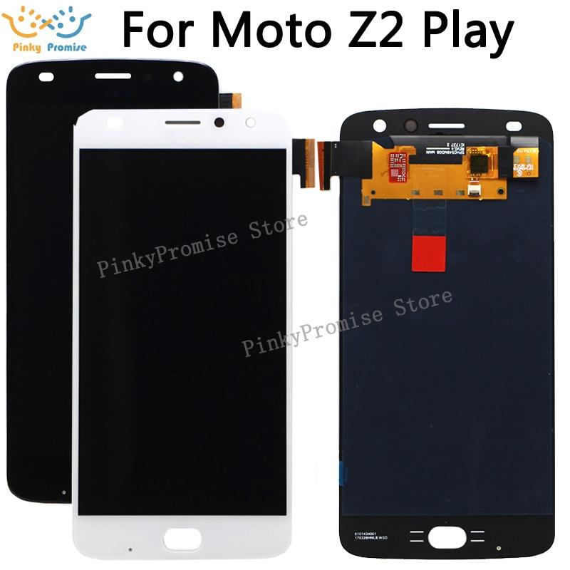 5 5 For Motorola Moto Z2 Play lcd XT1710 01 xt1710 07 xt1710 10 Xt1710 09