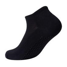 Женская Профессиональная Yoga Носки Антипробуксовочная Резиновые Dots Спортивные Крытый Упражнения Носки Латекс Пилатес Носки VES41 P16 0.5