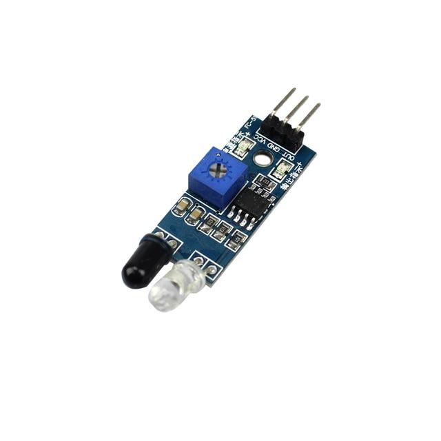 Умная Электроника салона автомобиля Робот отражающей фотоэлектрический 3pin ИК инфракрасный препятствие избежании Сенсор модуль для Arduino DIY Kit
