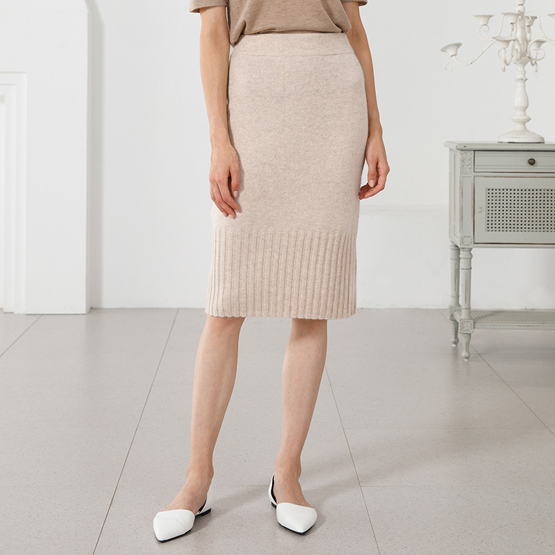 Free Shipping Newest Women Winter Cashmere Skirt 100 Genuine Goat Cashmere Ladies Sexy Knitted Skirt Fashion