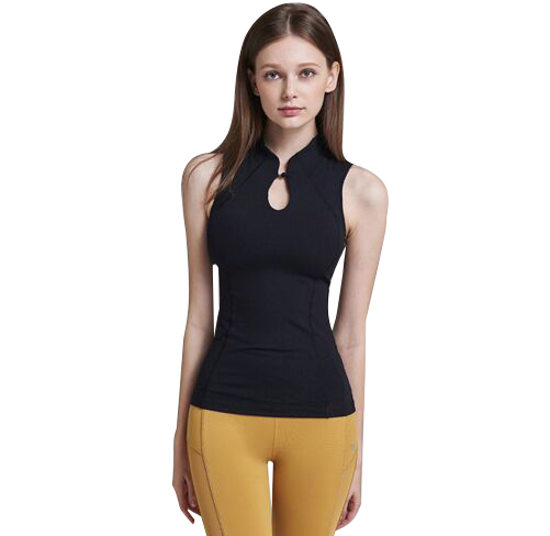 Sleeveless Yoga Shirt Quick Dry Sports Shirts For Women Fitness Clothing Gym Yoga Top Female Tank Tops S-XL Vest