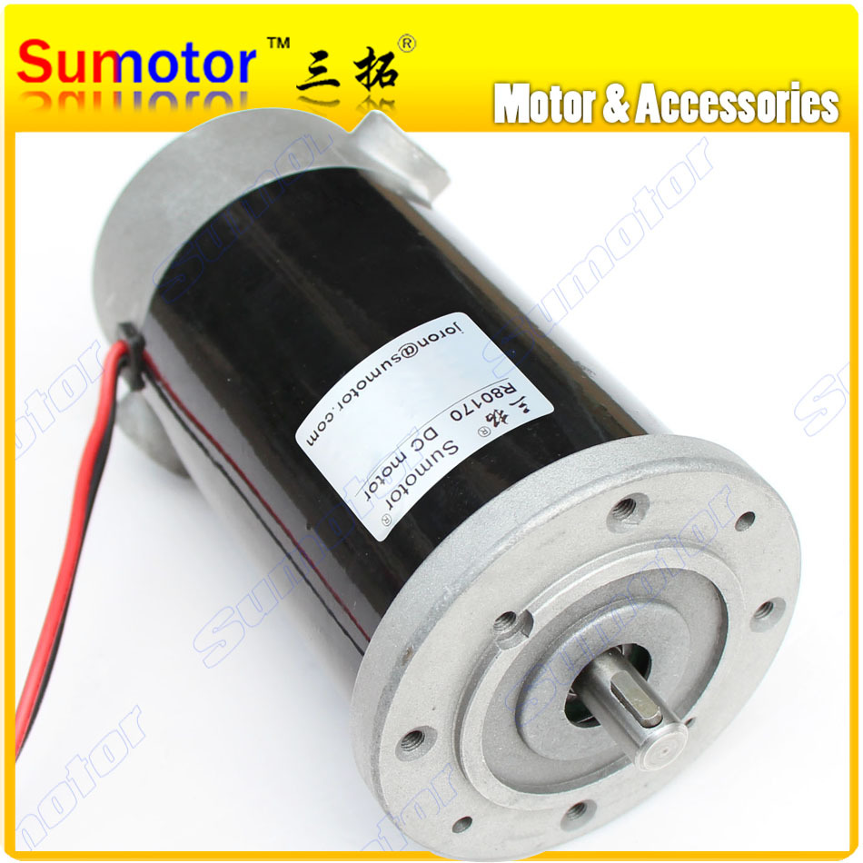R80170 12V 1600 24V 1800 3500rpm High speed large torque Electric Tubular DC motor for Pump Industrial applications machine tool spindle 775 with er11 high speed large torque dc motor electric tool electric machinery 12 36v 775