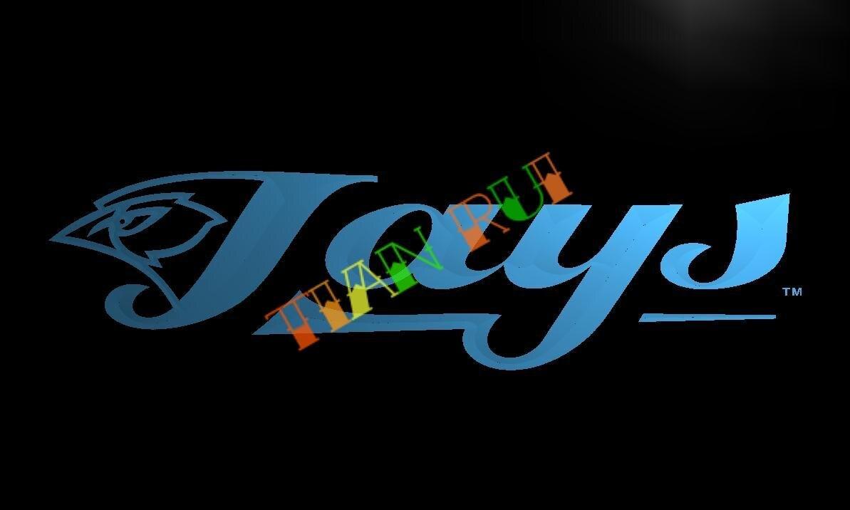 Ld127 Toronto Blue Jays Led Neon Light Sign Home Decor Crafts China