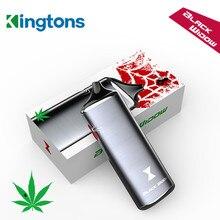Электронная сигарета сухой травы испаритель оригинальные Kingtons травяные испарителей электронных сигарет Перезаряжаемые Батарея вейпер электронная сигарета