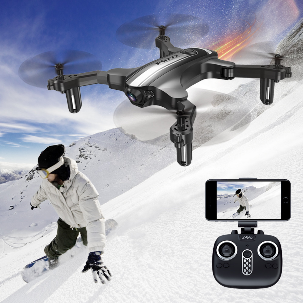FQ777 FQ31W Foldable Mini RC Drone RC Helicoputer 30W Camera WIFI FPV Altitude Hold Headless Mode One Key Return RC Quadcopters все цены
