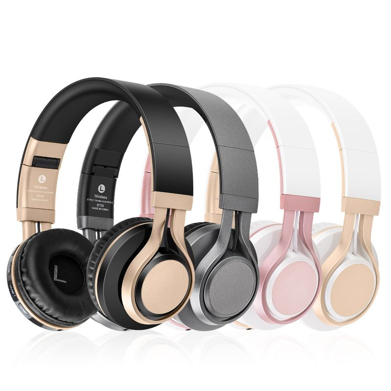 BT-08 BT-09 Wireless Headphones Bluetooth Headset Earphone Headphone Earbuds Earphones With Microphone For PC mobile phone music ytom bluetooth headphones earphone wireless headphone with microphone low bass headset earphones for computer phone sport pc mp3