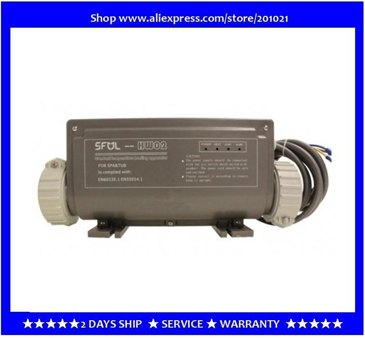 SFUL HW02 HW02B Constant Temperature Heating Apparatus - hot tub spa heater 3kw