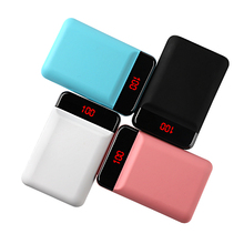 12000mAh Power Bank for xiaomi mi iPhone Mini Pover LED Display Portable Powerbank External Battery Poverbank Fast charging