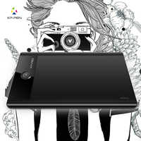 """Star04 9 x 6"""" Battery-free Stylus Graphic Drawing Tablet/pad/Writing Board with 8GB Flash Memory & Rotary Switches Express Keys"""
