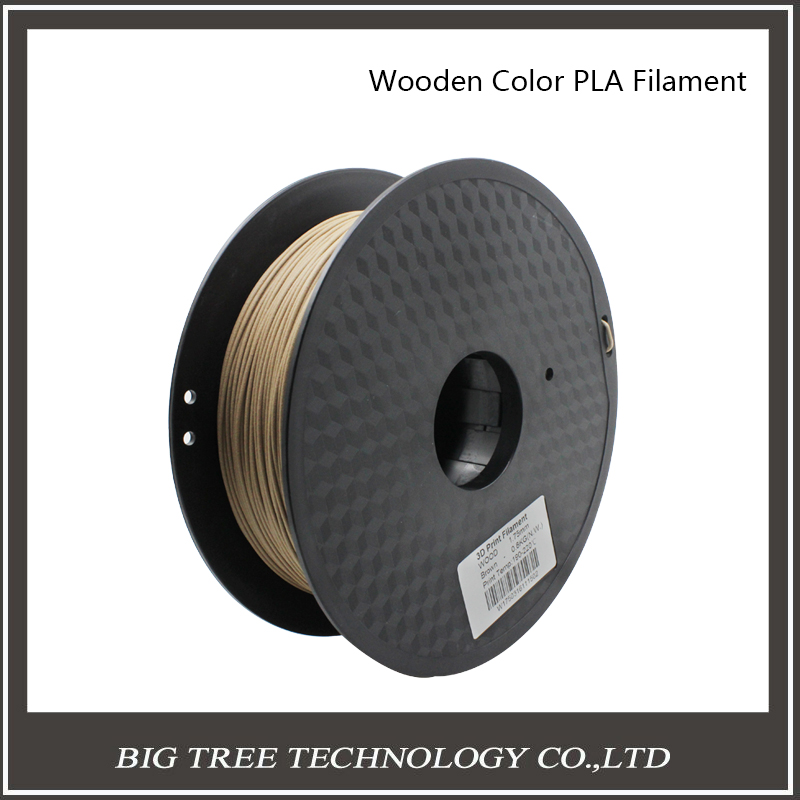 BIQU 3D Printer Filament Wood material 0.8kg 1.75mm PLA PA PVA HIPS for MakerBot Flash Forge