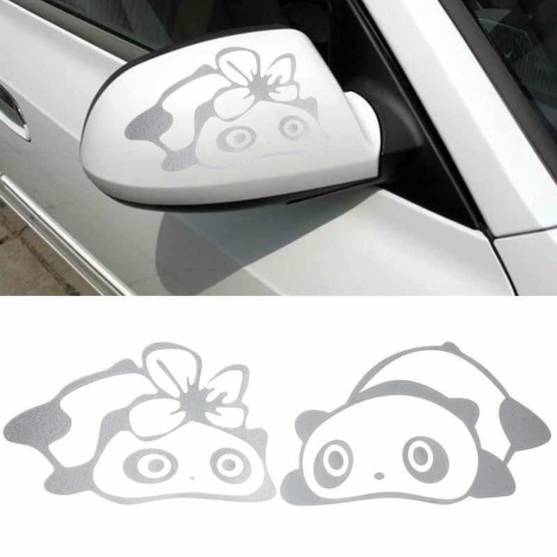 Moda Panda Design 3D Autoadesivo Della Decorazione Dell'automobile Specchietto Laterale Retrovisore Adesivi Styling Auto Accessori Auto Per Volkswagen Ford