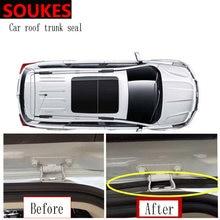 Bande d'étanchéité insonorisante pour capot de coffre arrière de voiture, 100cm, autocollant pour Audi A4 B7 B5 A6 C6 Q5 A3 TT Honda Civic 2006 – 2011 Fit Accord CRV