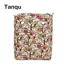 TANQU Tela Colorful Insert Lining Canvas Inner Pocket for O CHIC OCHIC Canvas Waterproof Inner Pocket for Obag