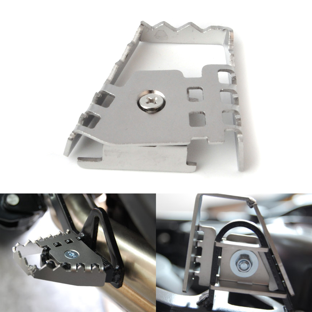 Splitter Hinten Fuß Bremshebel Peda Vergrößern Verlängerung Bremse Hinten Peg Pad Extender für BMW F800GS F700GS F650GS R1150GS
