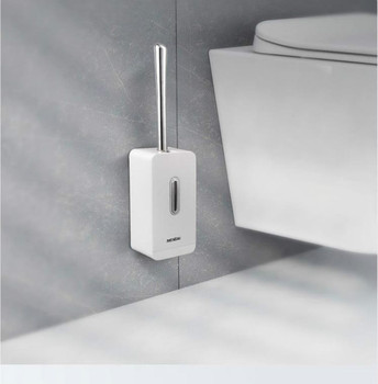 Creative Suction Toilet Brush Holder Set Durable Clean Wall Mount Toilet Brush WC For Bathroom Storage and Organizer недорого