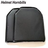 Helmet Hornbills 2pcs Lot 10 X 12 Aramid NIJ Level IIIA Bulletproof Soft Panel NIJ 3A