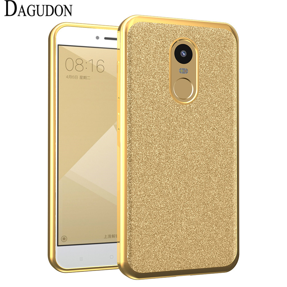 Dagudon bling case for xiaomi redmi note 4x cases luxury shiny powder glitter tpu phone case for - Xiaomi redmi note 4 case ...