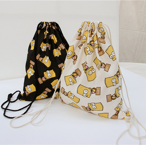 Aliexpress.com : Buy Fashion bart simpson backpack canvas ...