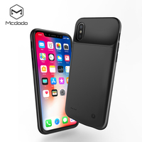 Mcdodo Battery Charger Cases for iPhone X 3200mAh Power Bank Case Ultra thin External Pack Backup Listen Music charger case