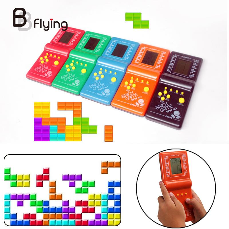 Electronic Classic Hand Held Game Player Gamepad Toys Gaming Device Gifts