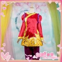 Annie год змеи Весенний фестиваль LOL изготовление размеров под заказ форма Косплэй костюм Бесплатная доставка полный набор