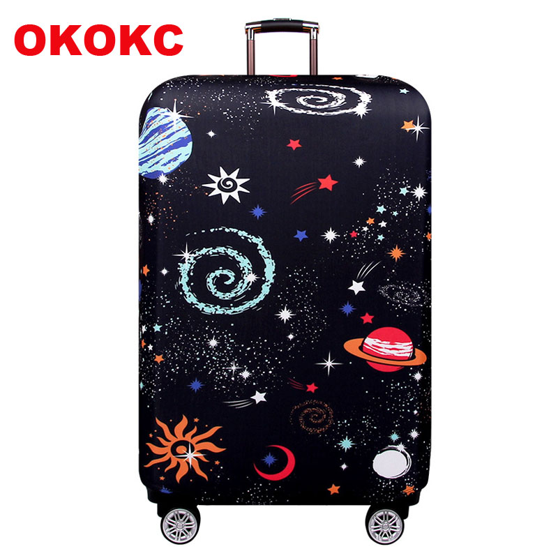 OKOKC Elastic Thickest Universe Luggage Cover Suitcase Protective Cover For Trunk Case Apply To 19''-32'' Suitcase Cover