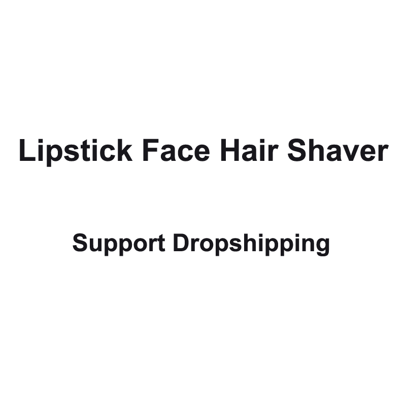 Pintalabios eléctrica removedor de pelo lápiz labial portátil depiladora para las mujeres belleza ayuda dropshipping