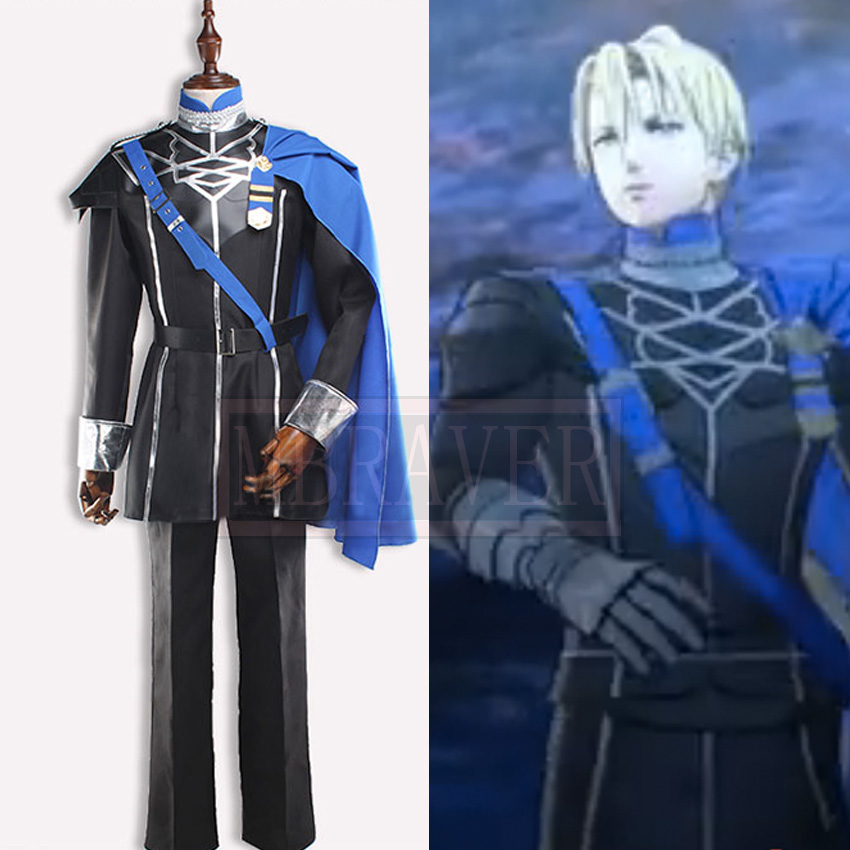 Fire Emblem: Three Houses Dimitri Alexandre Bladud Cosplay Costume Adult Cos Halloween Outfit Custom Made Free Shipping image