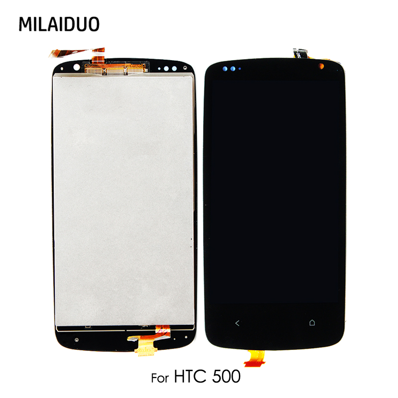 Original LCD Display For HTC Desire 500 Touch Screen Digitizer Glass Panel Monitor Module Assembly Replacement No Frame 4.3Original LCD Display For HTC Desire 500 Touch Screen Digitizer Glass Panel Monitor Module Assembly Replacement No Frame 4.3