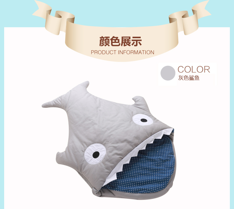 Cute-Soft-Winter-Cotton-Infant-stroller-Baby-Sleeping-Bag-Sharks-Newborns-Bedding-Swaddle-Blanket-sleepsacks-warm-sack-3