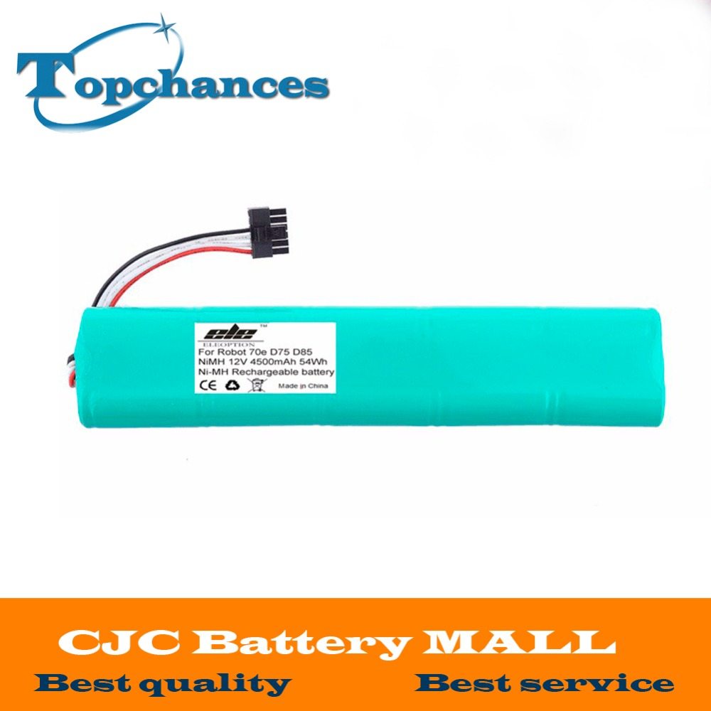 High Quality NI-MH 12V 4500mAh Replacement battery for Neato Botvac 70e 75 80 85 D75 D8 D85 Vacuum Cleaner battery 14 4v 4500mah ni mh battery replacement for bosch 2 607 335 711 bat038 bat040 bat041 bat140 bat159